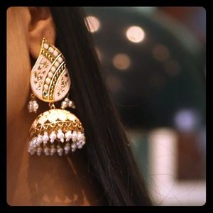Indian Bollywood style meena jhumki